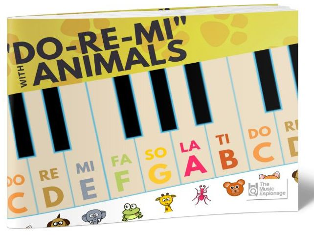 Do-Re-Mi with Animals - A3 POSTER