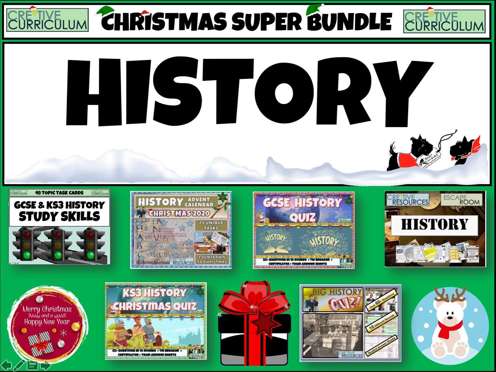History Christmas Quiz Bundle
