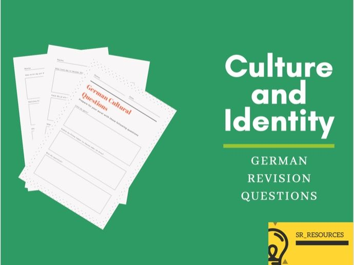 German Culture and Identity Questions
