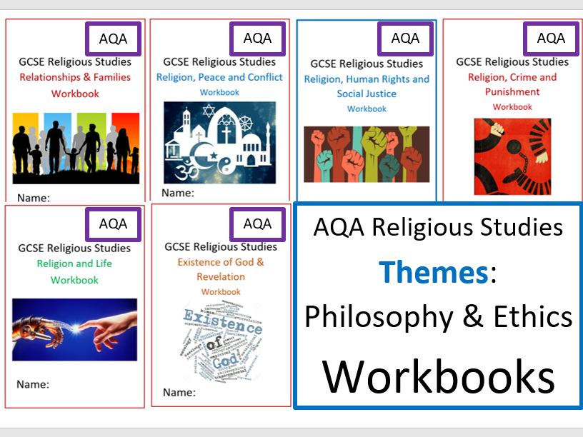 AQA: GCSE Religious Studies: Philosophy & Ethics: Themes Workbooks
