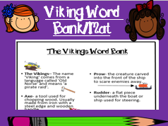 Viking Word Bank