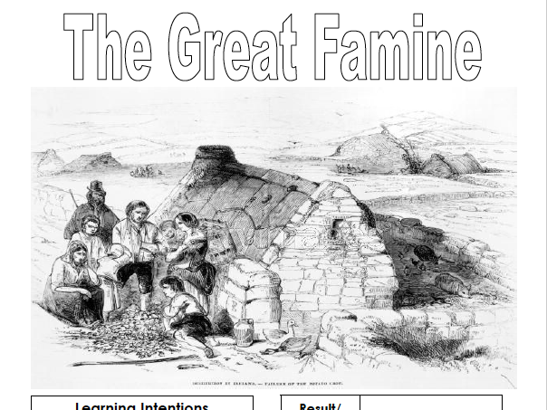 The Great Irish Famine (Pupil work book)