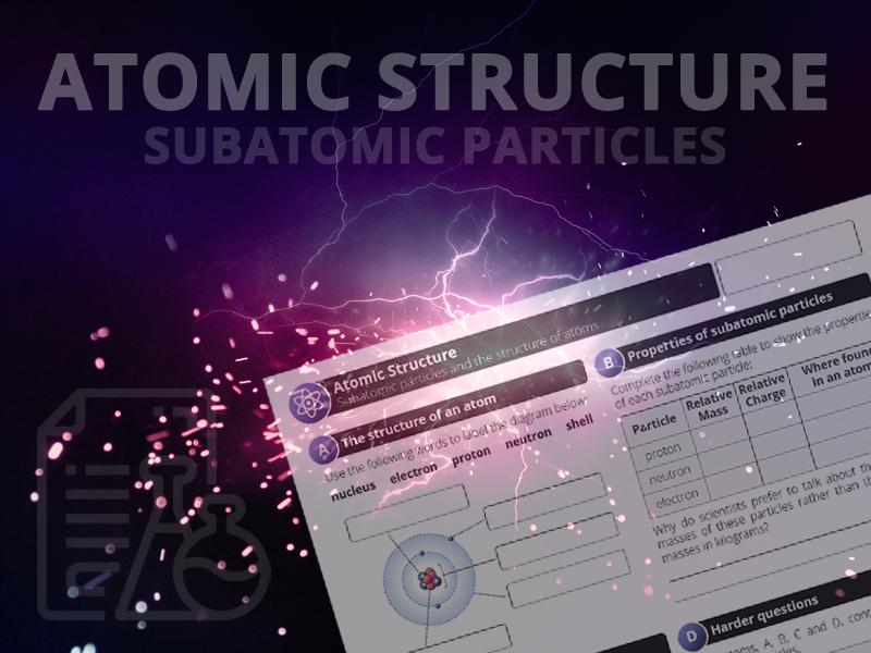 Atomic Structure - Subatomic particles
