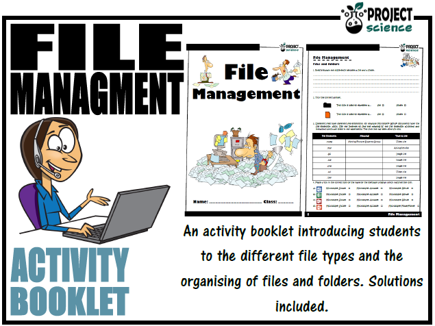 File Management Activity Booklet