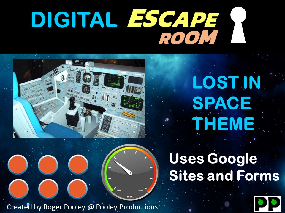 Digital Escape Room - Lost in Space
