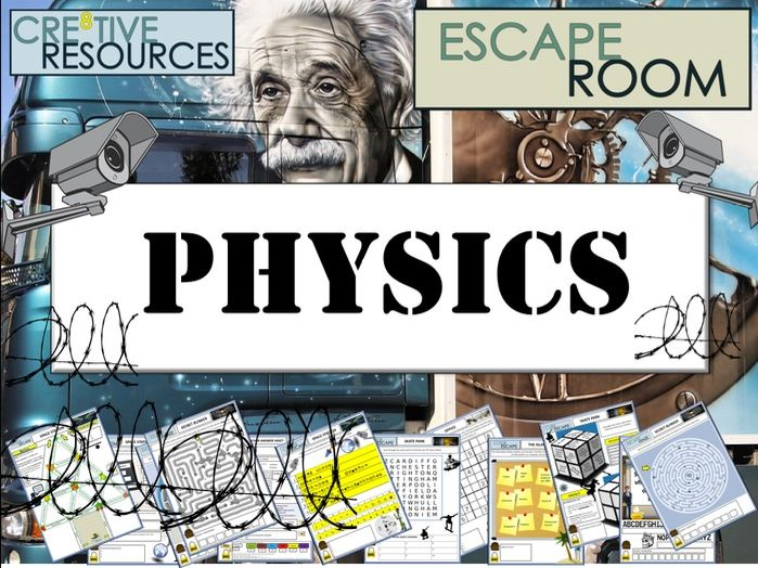 Science End of Year Escape Room - Physics
