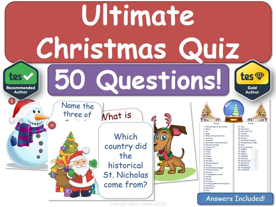 Christmas Quiz! Christmas Quiz! Christmas Quiz!