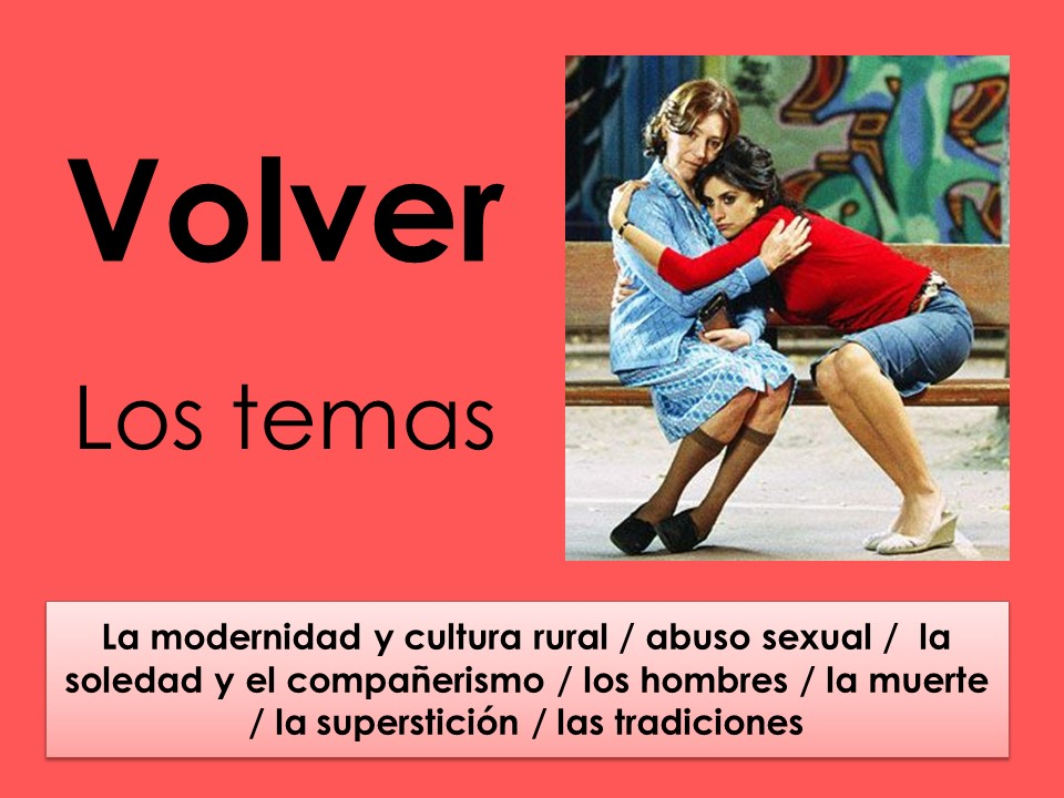 AQA New A Level Spanish Volver: Los temas