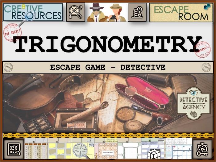 Trigonometry Maths Games Escape Room