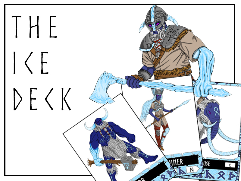 BATTLING GRAMMAR - The Ice Deck for the exciting, KS2 grammar card game