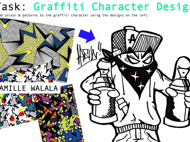 Art & Graphic Design Influences Booklet - Self-Directed - Tattoos & Graffiti