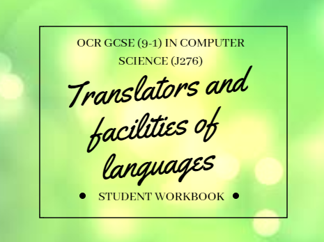 Translators and facilities of languages