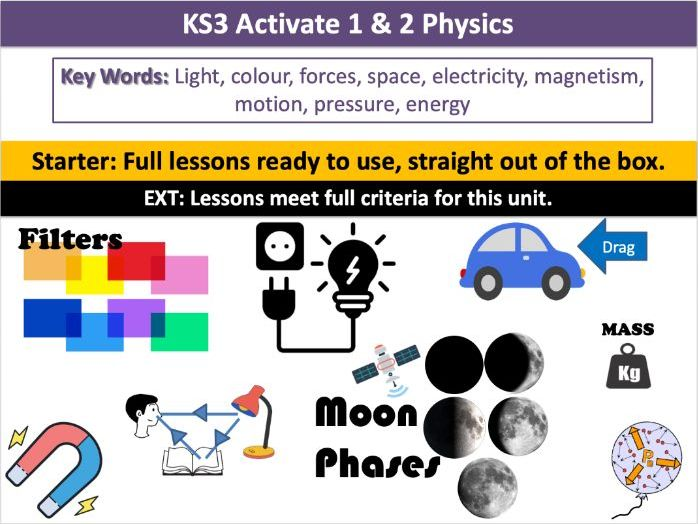 KS3 Activate 1 & 2 Physics