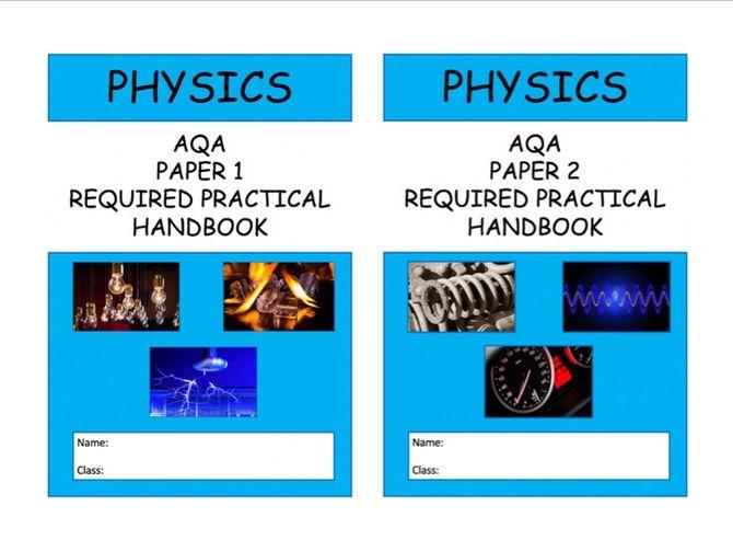 NEW AQA Physics Required Practical Handbook 9-1
