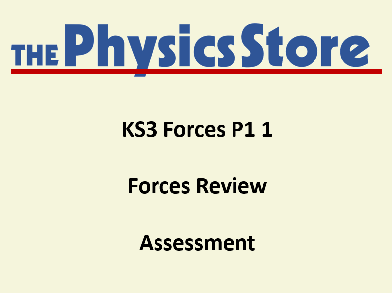 KS3 Physics P1 1 Forces Review Assessment