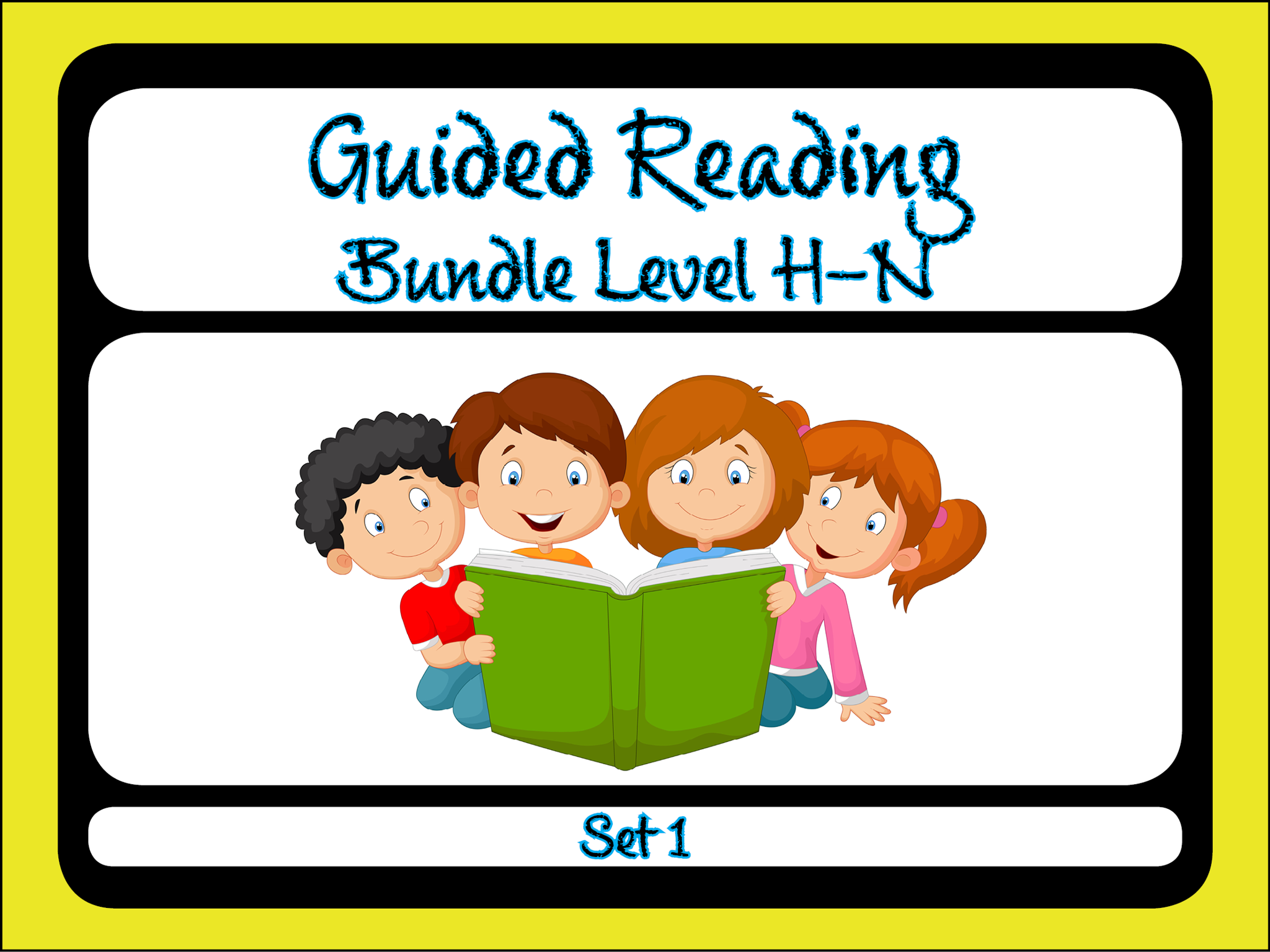 Guided Reading Level H-N Set 1