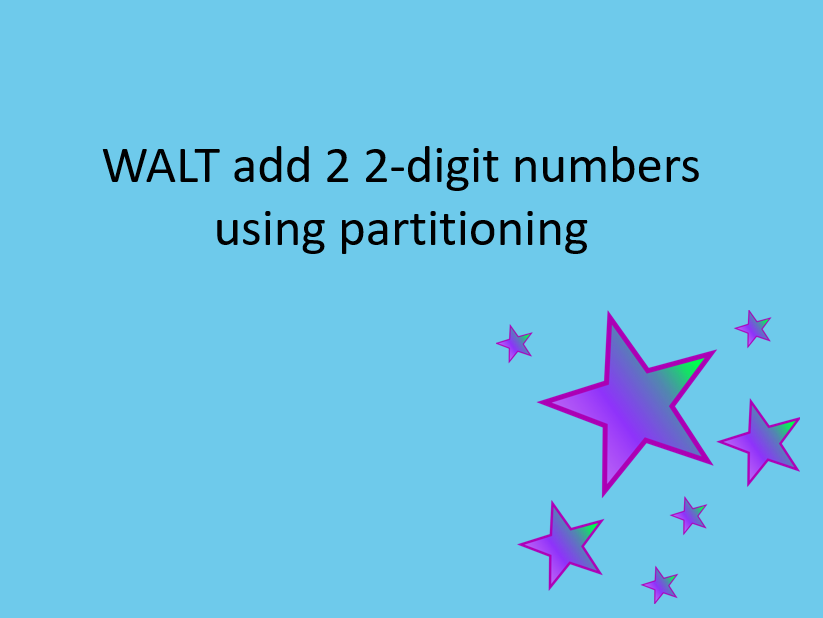 Addition 2 2 digit numbers (not bridging 10s)
