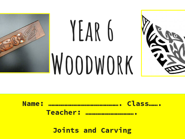 Carved Moari Pencil Box Project, KS3 and KS4, Design and Technology, Woodwork