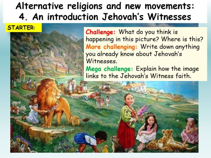Jehovah's Witnesses : Jehovah's Witnesses Introduction