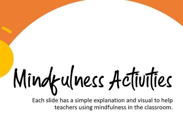 Mindfulness Activities PPT