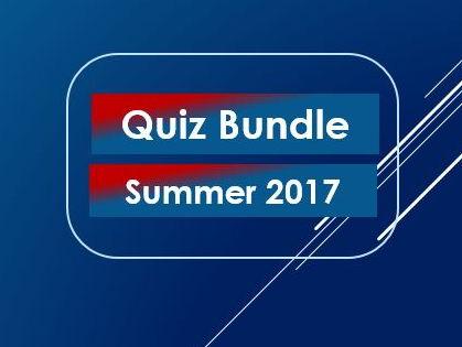 Quiz Bundle Summer 2017