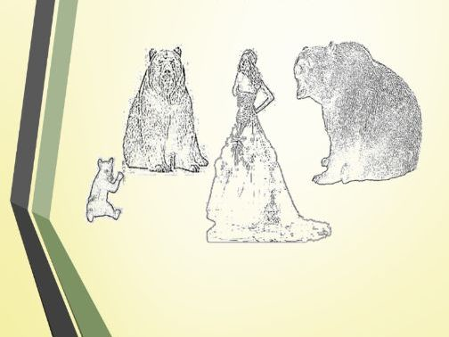Cloze Exercises Goldilocks and the Three Bears  - Fill in the Book