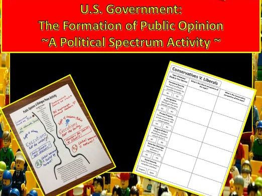 U.S. Government: Forming Public Opinion ~Power-point & Student Activities~
