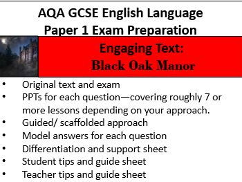 AQA GCSE English Language Paper 1