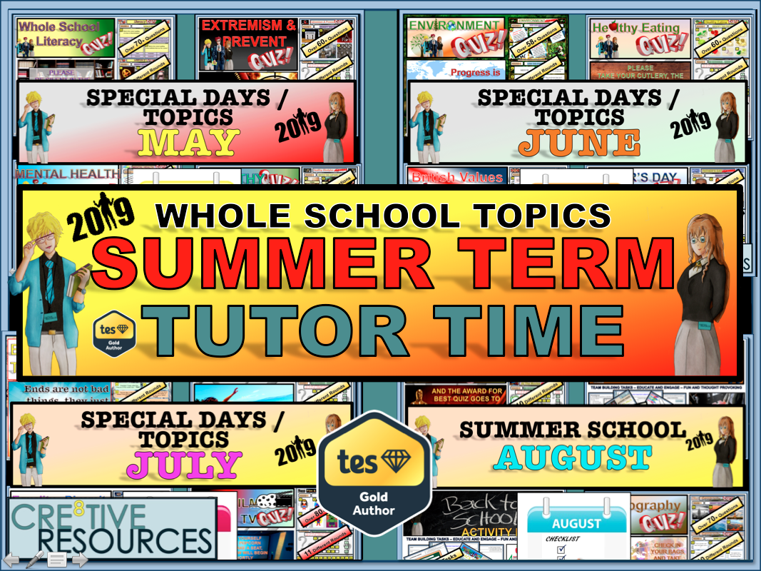 Tutor time - Summer Term 2019