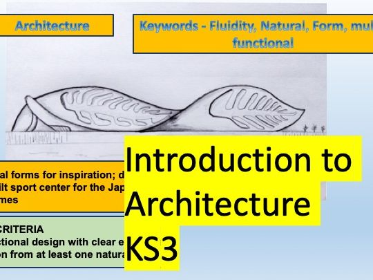 KS3 Introduction to Architecture, Leading Architects and Principles of Architectural Design