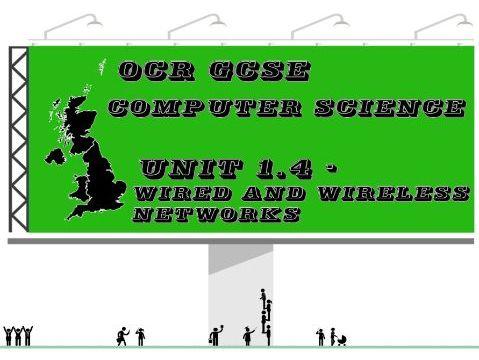 OCR GCSE Computer Science Unit 1.4 – Networks (Concept map, key vocabulary & questions)