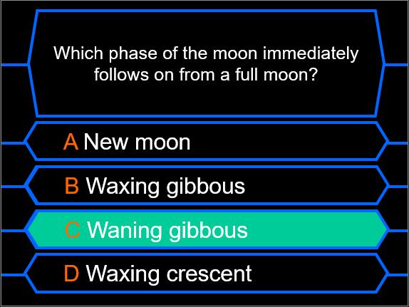 Millionaire Quiz! (Solar System Edition)