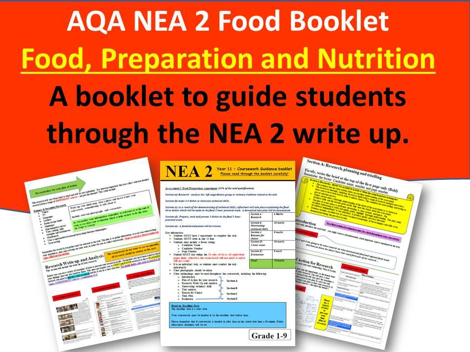 AQA Nea2 Food Booklet