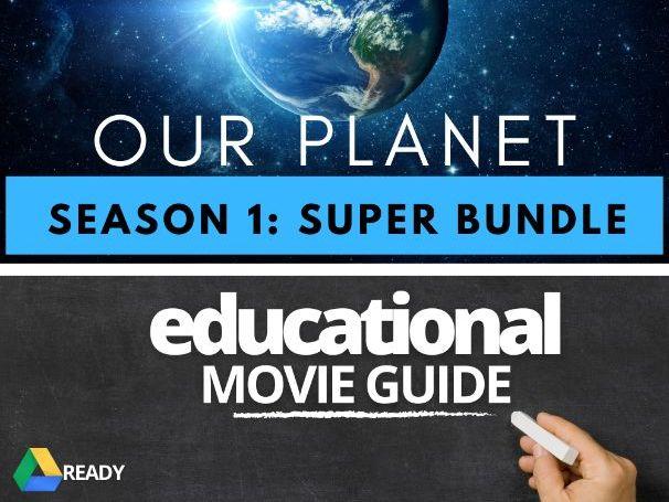 Our Planet Super Bundle Movie Guide | Netflix | Profits Donated