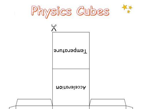 Physics Cubes Game