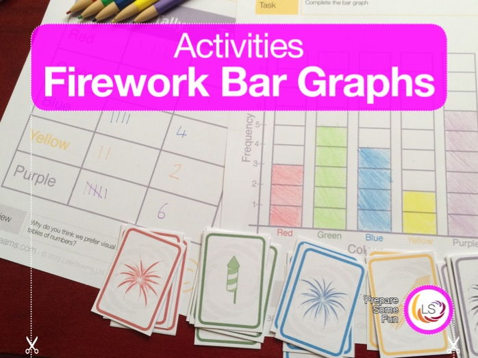 Firework Bar Graphs