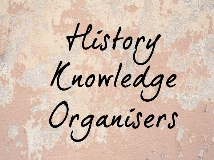 History Knowledge Organisers