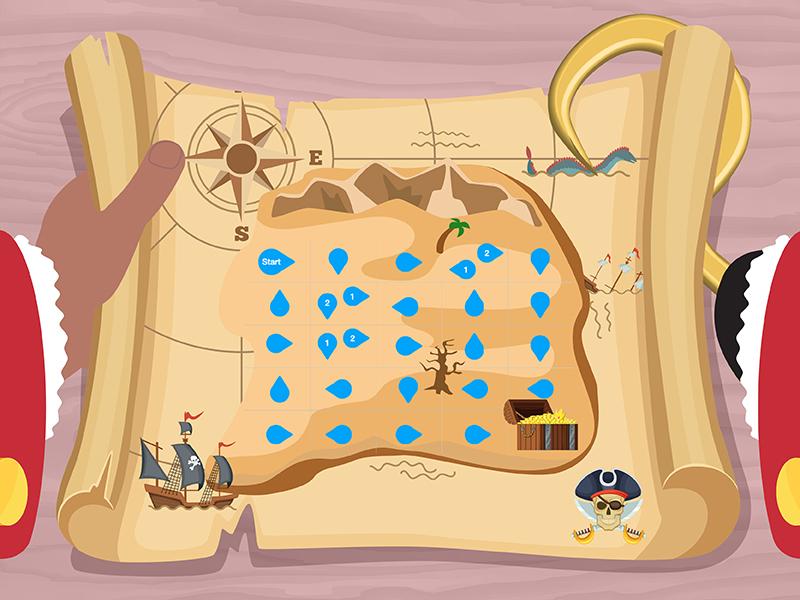 Pirate Treasure Hunt (computing activity)