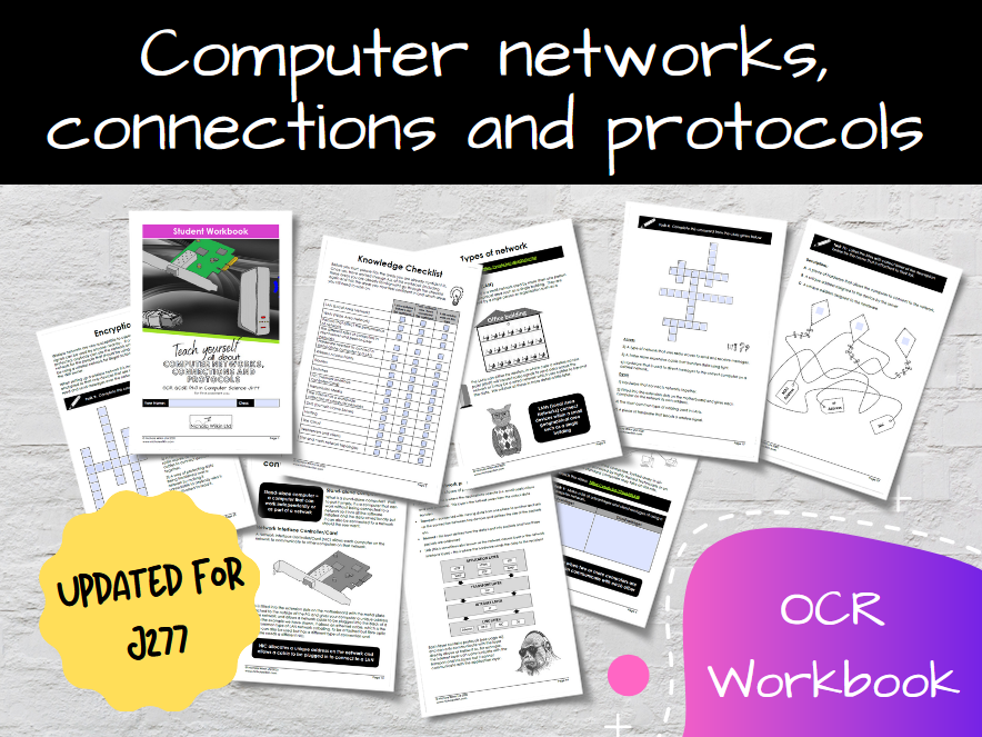 Computer networks, connections and protocols OCR GCSE Computer Science Workbook (J277)
