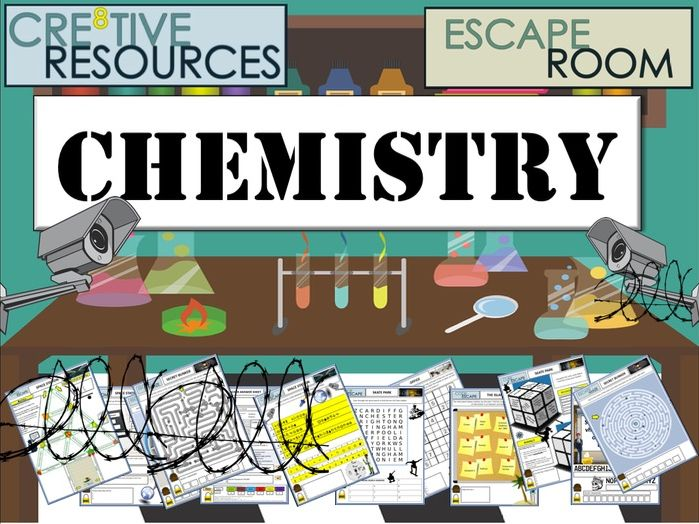Science End of Year Escape Room - Chemistry