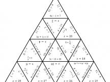 Musical Elements Tarsia Puzzle