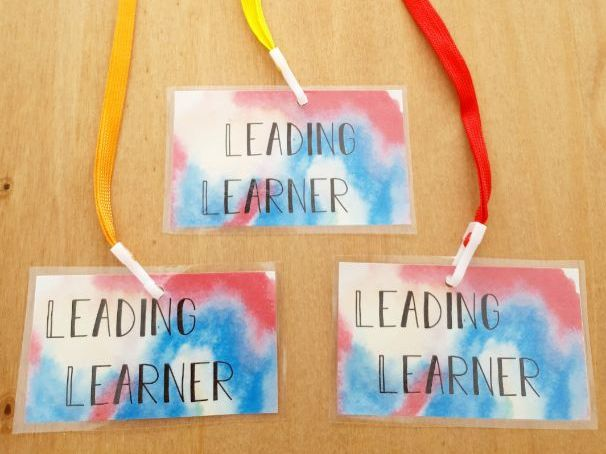 Leading Learner Badges