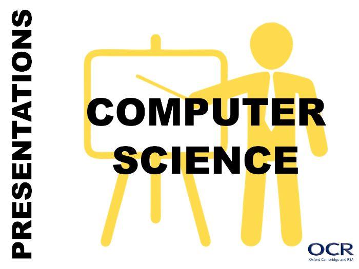 GCSE Computing - Features of a GUI Presentation