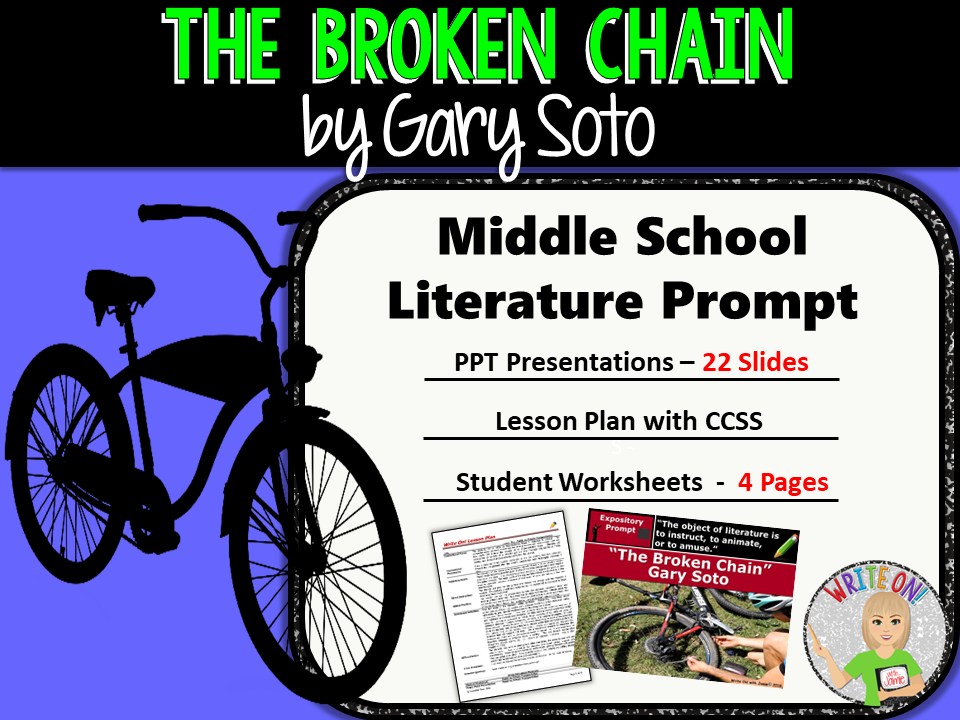 broken chain by gary soto essay I have an essay due for english and looked on google, but couldn't find anything what are some themes in broken chain by gary soto the more info, the better chance you&#39ll get picked as best answer.