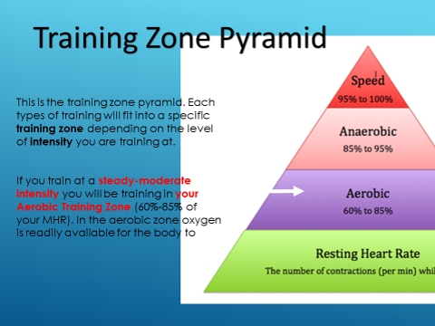 Training Zone Pyramid