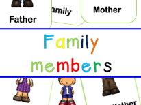 My family flashcards