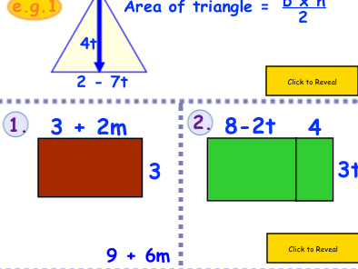Expanding Brackets and Factorising Year 7-10 SMARTboard Notebook File