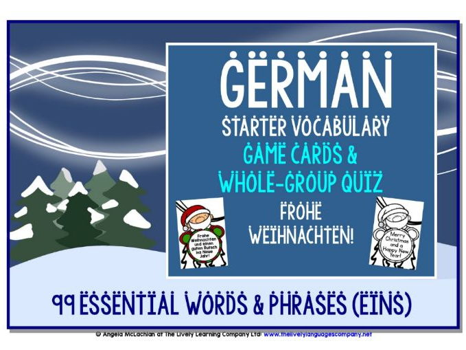 GERMAN CHRISTMAS EDITION GAMES & QUIZ (1)
