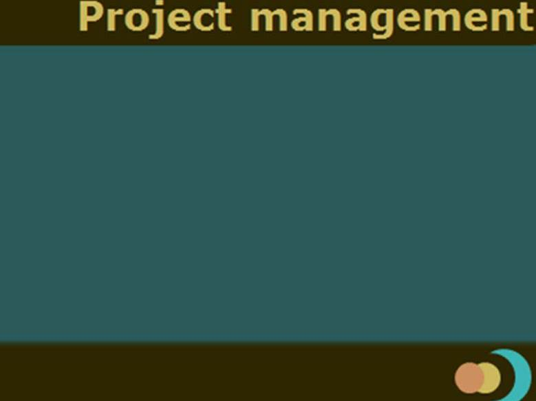 Project life cycle and  management