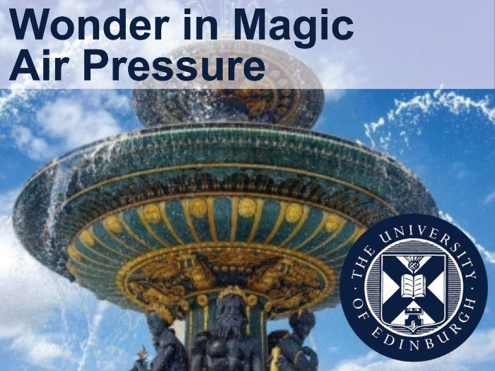 Wonder in Magic  - Air Pressure